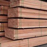kayu bangunan